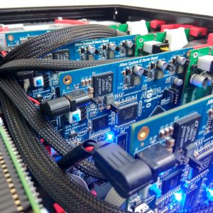 FPGA-powered continuous wave ultrasonic array controller